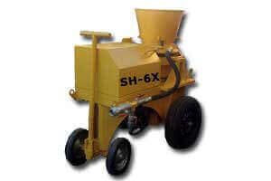 ATEX Certificated - Ex Proof or Air Driven - Dry Mix Shotcrete Machines - PASHA \